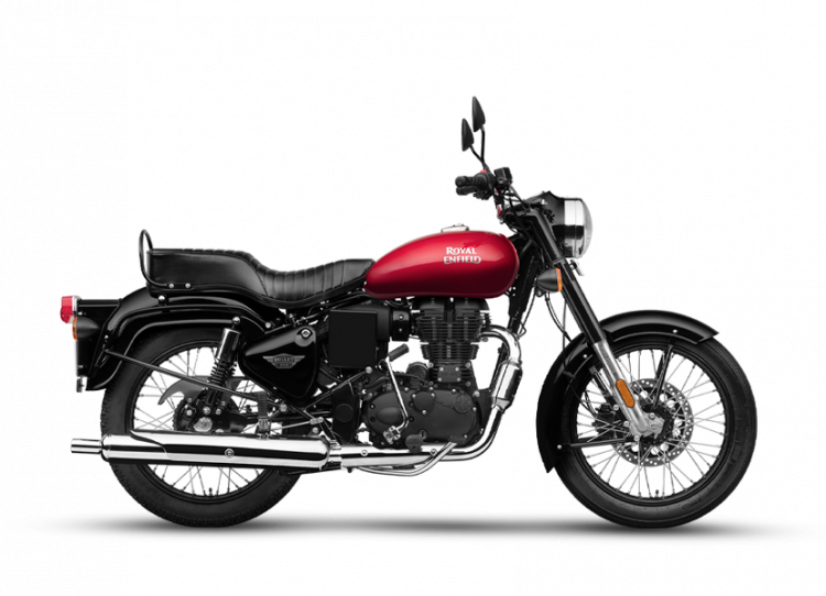 Royal Enfield Bullet 350 Es Bs6 Regal Red Rhs