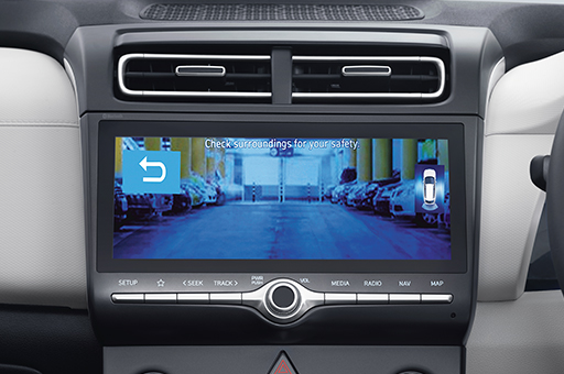 Hyundai Creta rear view monitor