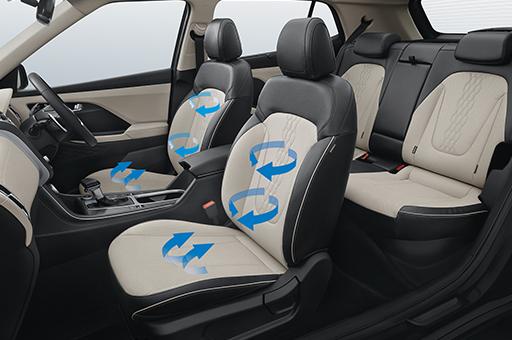 Hyundai Creta ventilated seats