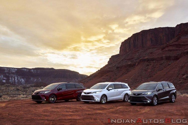 2021 Toyota Sienna Xse Limited Platinum