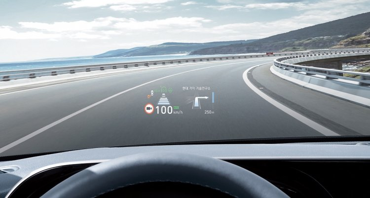 Hyundai Palisade Head Up Display 7d42