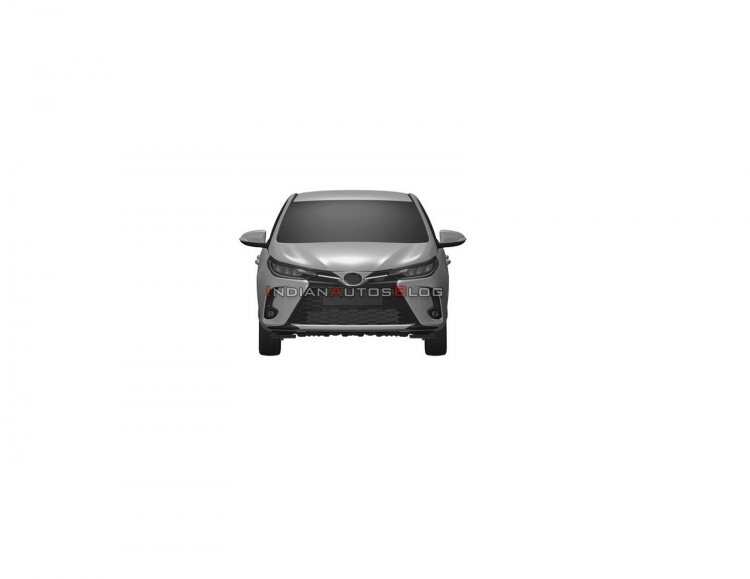2021 Toyota Yaris Facelift Front 8295