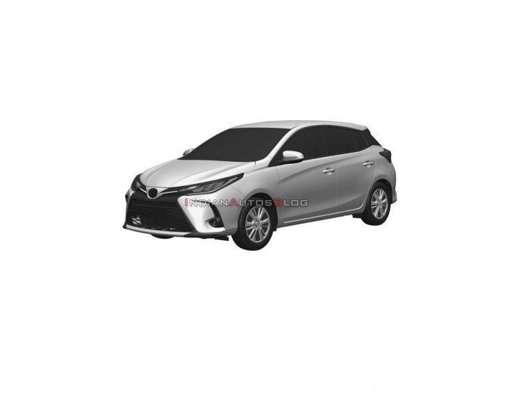 2021 Toyota Yaris Facelift Front Quarters