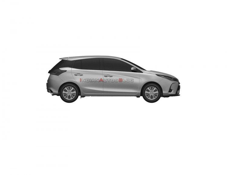 2021 Toyota Yaris Facelift Profile Side E0e8