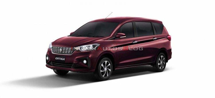 2020 Suzuki Ertiga Front Three Quarters Thailand F