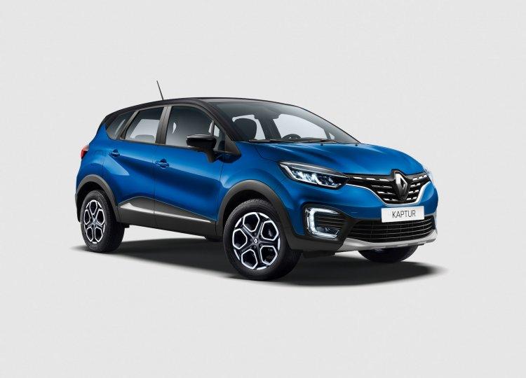 2021 Renault Captur Facelift Front Quarters