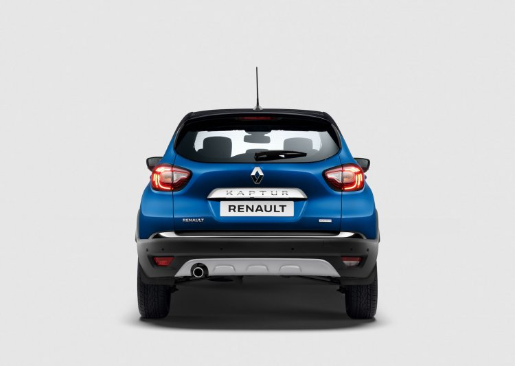 2021 Renault Captur Facelift Rear E143
