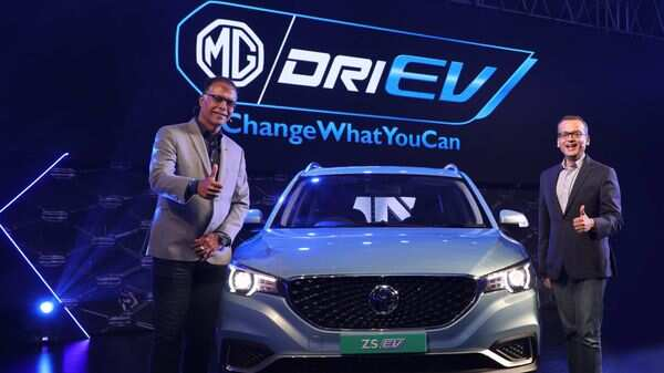 Mg Pioneers The Ev Ecosystem In India Unveils Indi