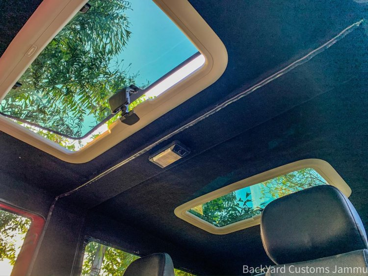 Customised Mahindra Thar dual sunroof
