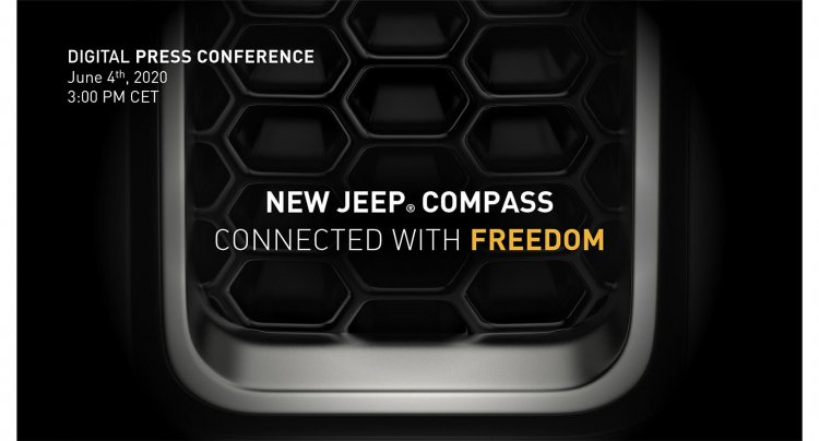 New Jeep Compass Facelift 2021 Teaser