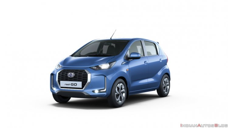 2020 Datsun Redigo Facelift Front Three Quarters