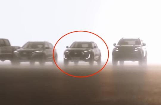 Nissan Magnite Front Teaser