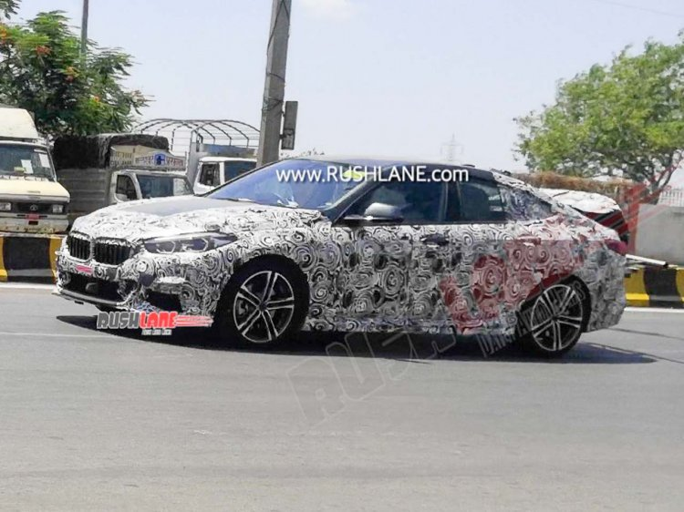 Bmw 2 Series Gran Coupe Spy Shot India