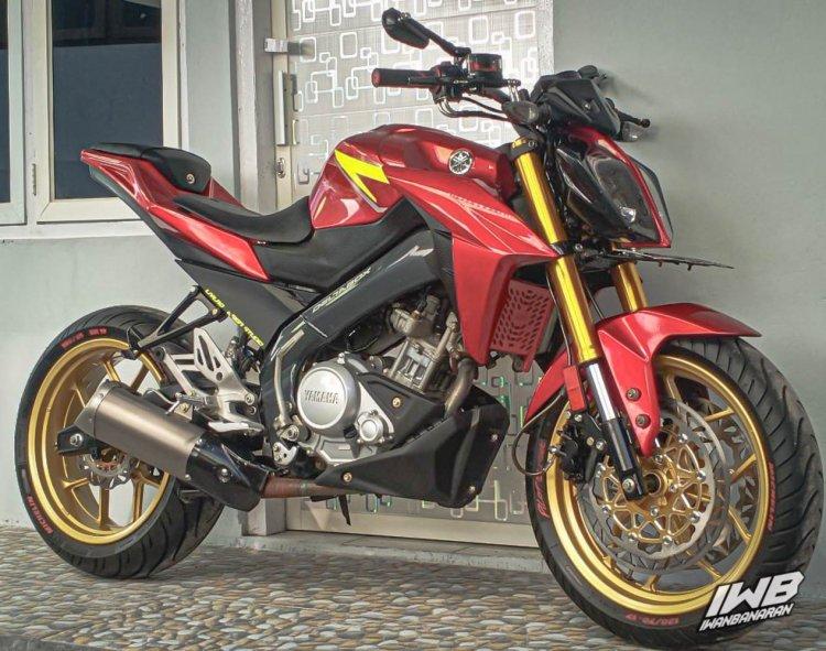 Modified Yamaha V Ixion Front 3 Quarter