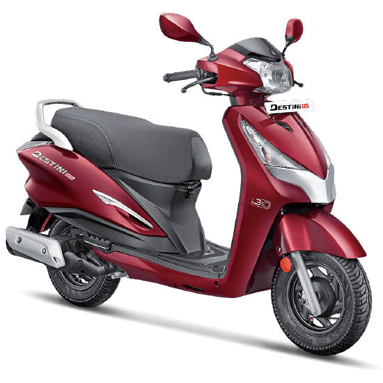 Hero Destini 125 Noble Red