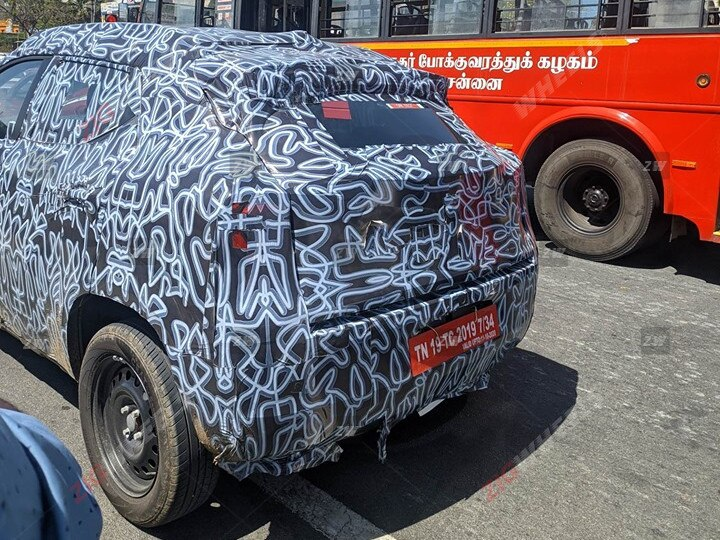 Renault Hbc Kieger Rear Fascia Spy Shot