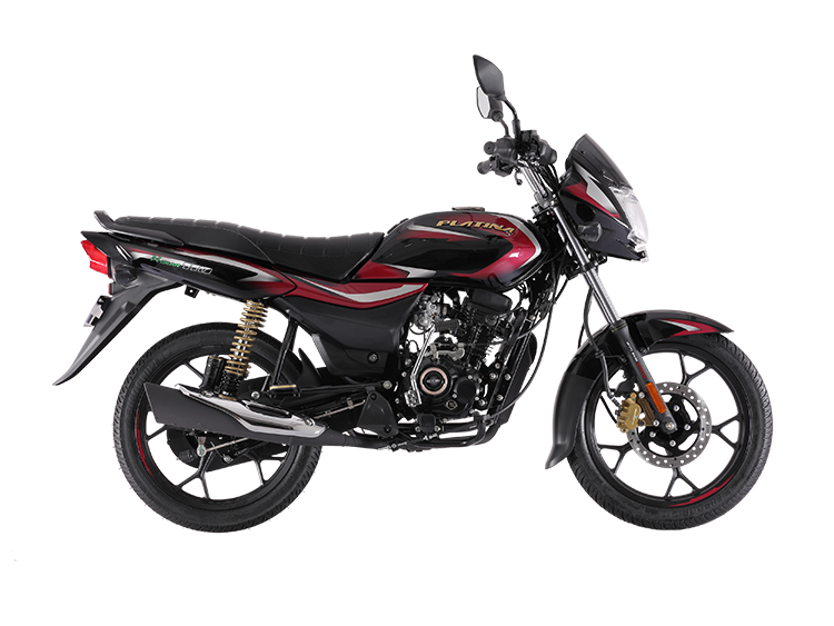 Bajaj Platina 110 H Gear Red Rhs