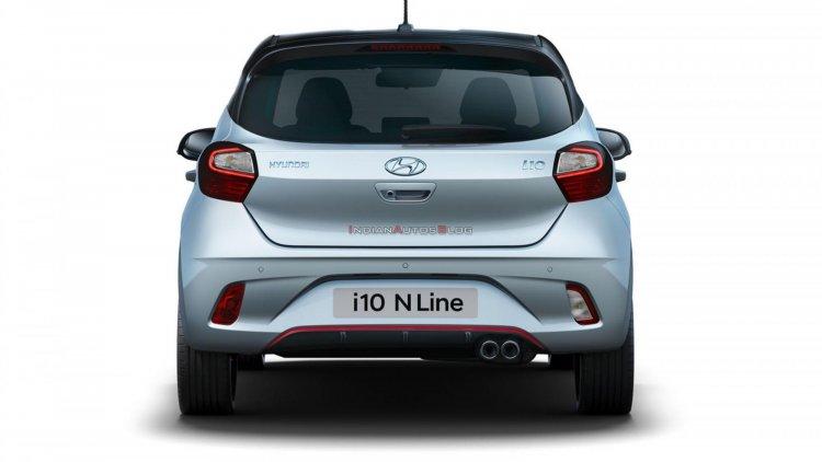 Hyundai I10 N Line Rear