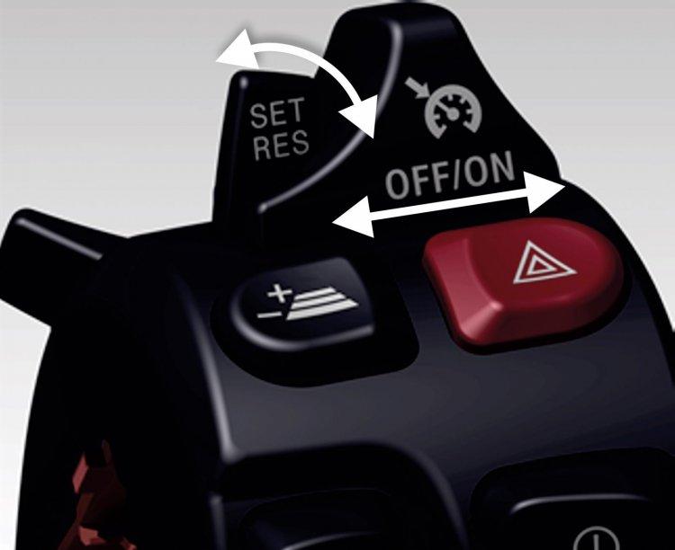 Bmw Motorrad Active Cruise Control Selector