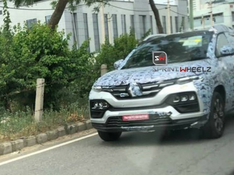 Renault Kiger Spy Shots Front View
