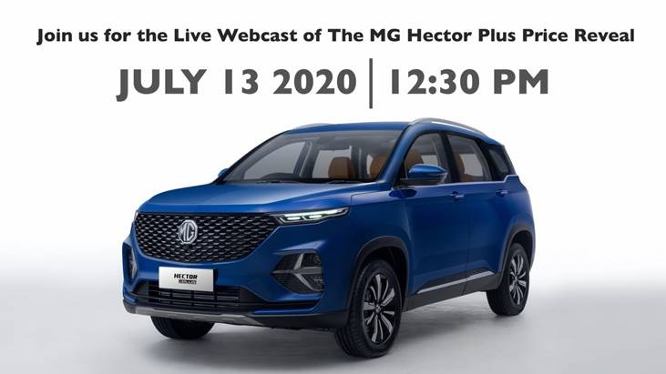 Mg Hector Plus Launch Date