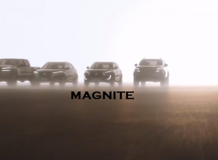 Nissan Magnite Teaser Front View