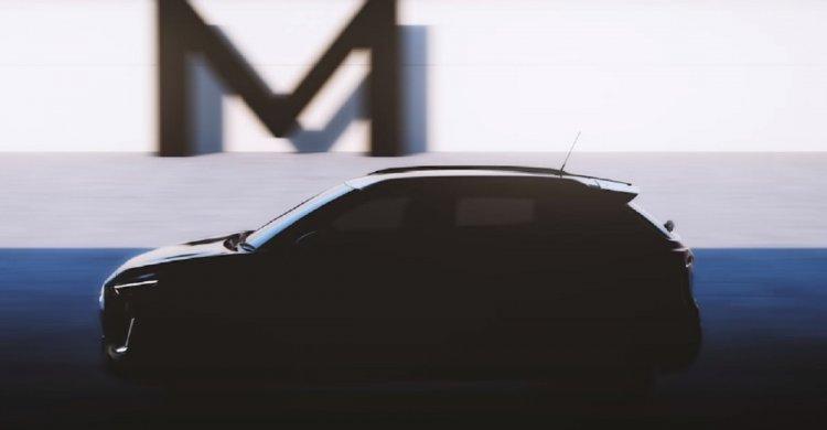 Nissan Magnite Teaser Side View