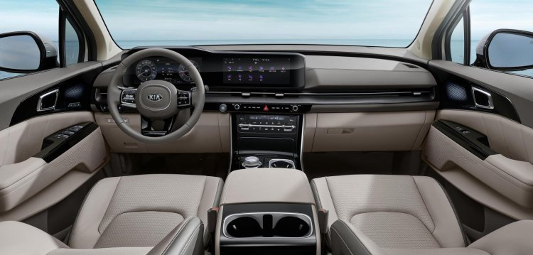 2021 Kia Carnival Interior Revealed