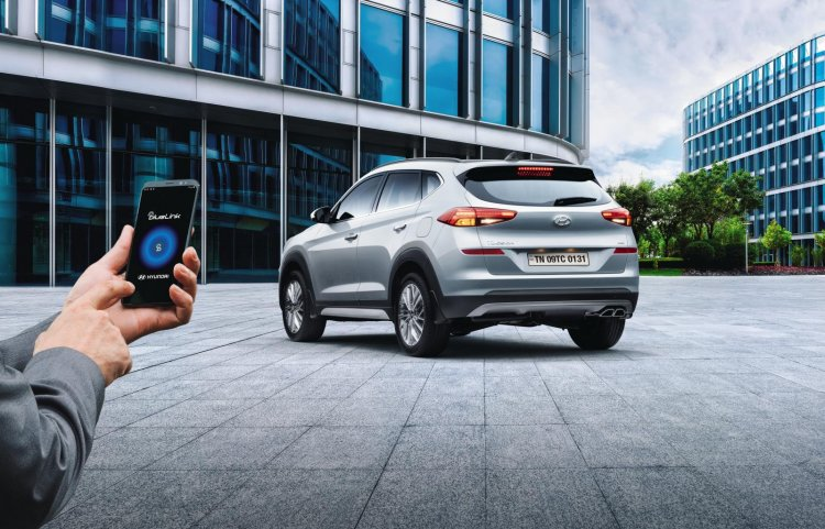 2020 Hyundai Tucson Bluelink Connectivity