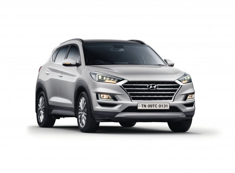 2020 Hyundai Tucson Exterior Three Quarter