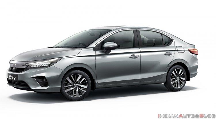 2020 Honda City Silver India 7858