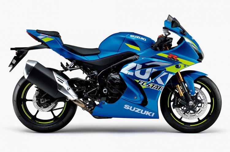 2021 Suzuki Gsx R1000r Triton Blue Metallic Rhs