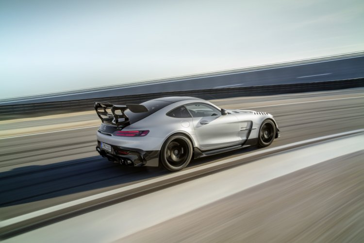 Mercedes Benz Amg Gt Black Series Rear Action