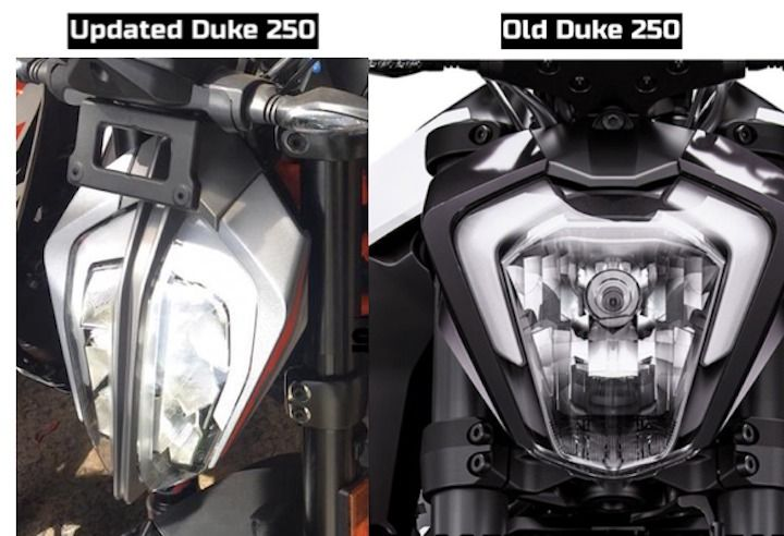 2020 Ktm 250 Duke Vs Old 250 Duke