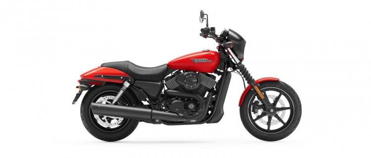 Harley Davidson Street 750 Orange