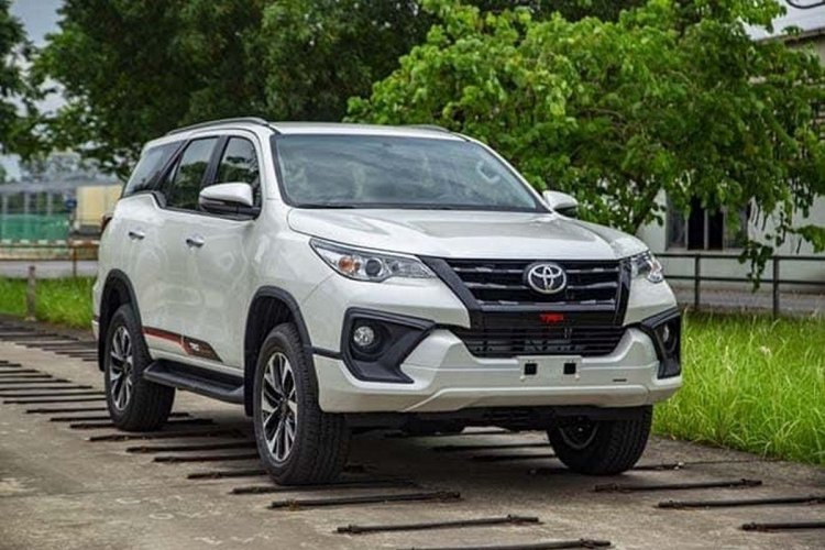 Toyota Fortuner Trd Limited Edition Being Tested