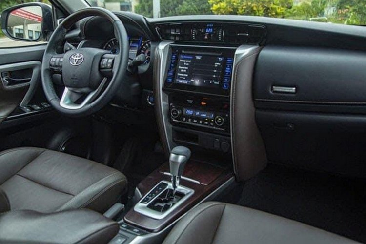 Toyota Fortuner Trd Limited Edition Interior
