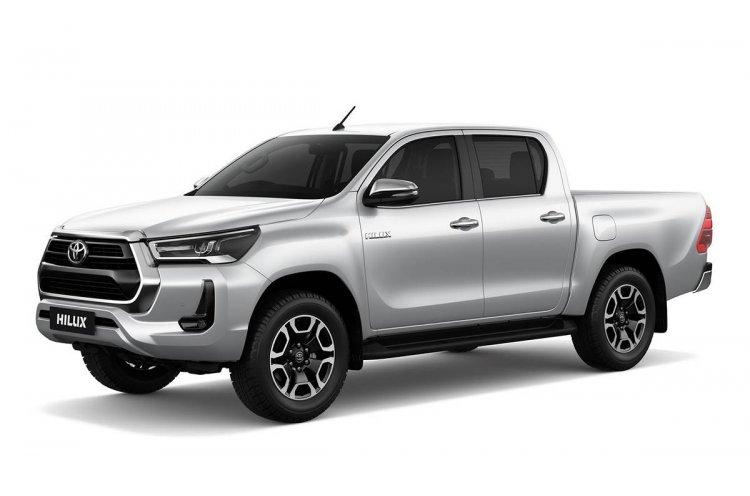 Toyota Hilux Front 3 Quarter