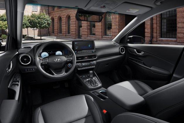 2021 Hyundai Kona Interior Driver Side