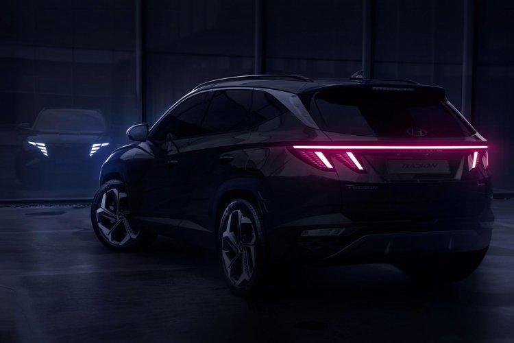 New Hyundai Tucson Rear