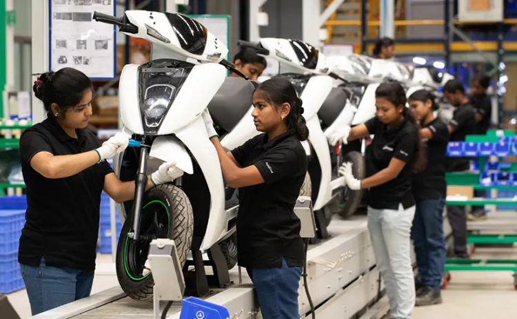 Ather Energy Assembly Line