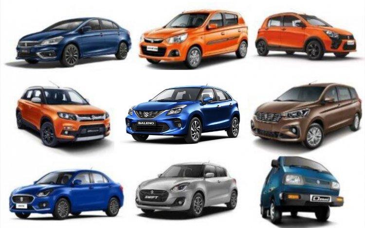 Maruti Suzuki Range Of Cars