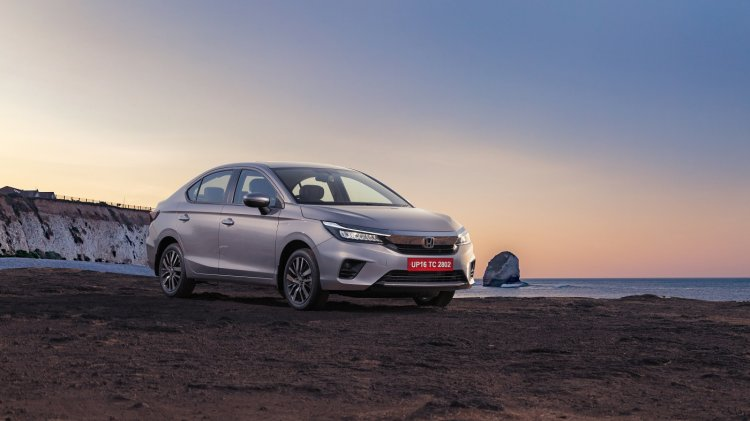 2020 Honda City Front 3 Quarters