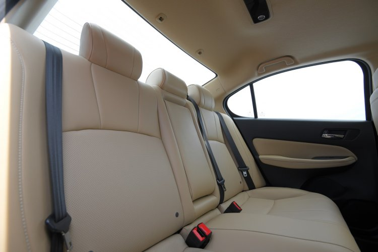 2020 Honda City Rear Seats