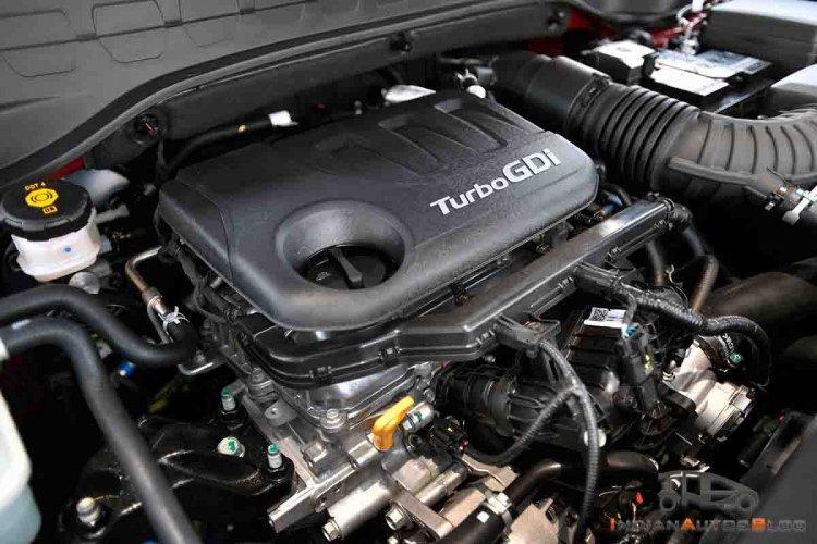 Kia Sonet Images Turbo Petrol Engine Bay