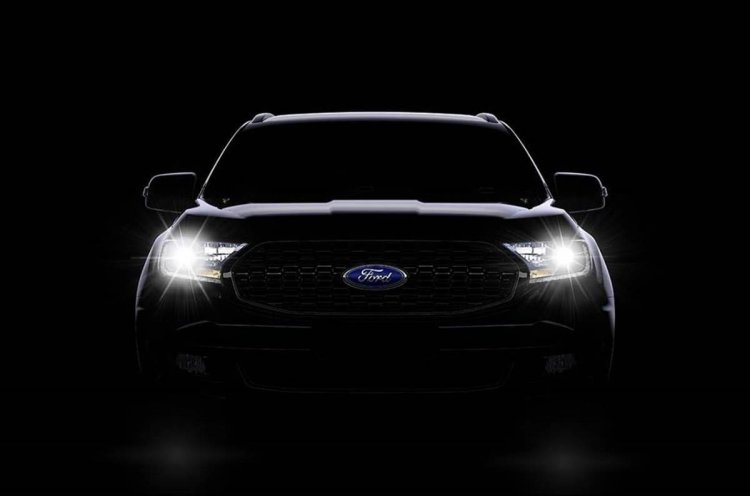 New Ford Endeavour Sport Teaser