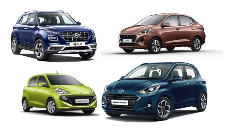 Hyundai Cars Under Inr 10 Lakh Mark