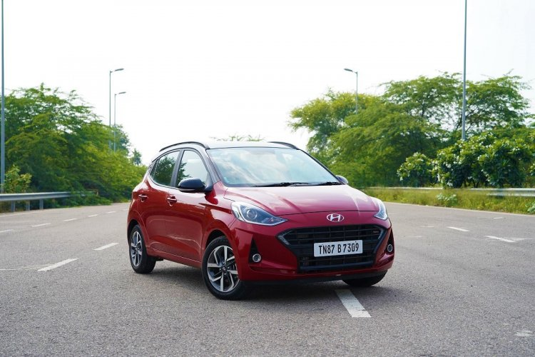 Hyundai Grand I10 Nios Turbo Front 3 Quarters