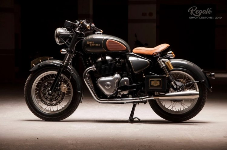 Royal Enfield Interceptor 650 Regale Left