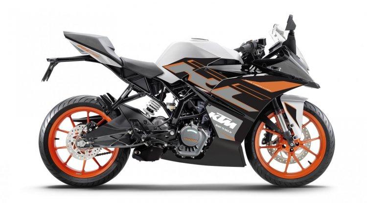 Ktm Rc 125 Dark Galvano Colour